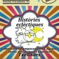 """Tu contes: """"Històries eclèctiques"""". Espacio de narración oral."""