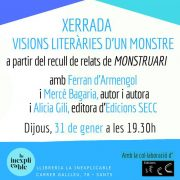Charla: Visiones literarias de un monstruo