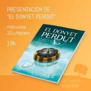 Presentación de «El donyet perdut»