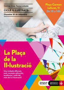 Cartell Plaça de la il·lustració
