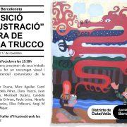 """Exposición """"Il·lustració"""" a cargo de Clara Trucco."""