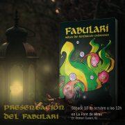 Presentación de el libro «Fabulari» en La Font de Mimir